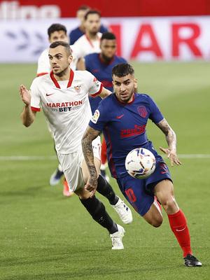 Temp. 20-21   Atleti - Sevilla   Correa