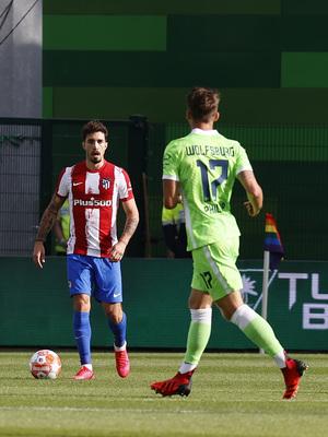 Temp 21/22   Wolfsburg - Atlético de Madrid   Vrsaljko