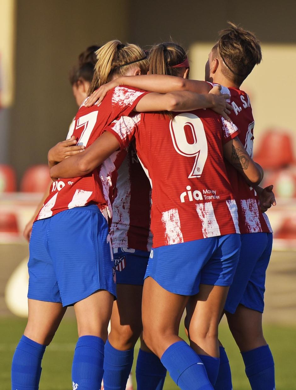 Temp 21/22 | Atleti Femenino - AC Milán | Celebración gol
