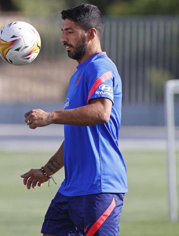 Temp. 2021/22   Entrenamiento 13/08/2021   Suarez