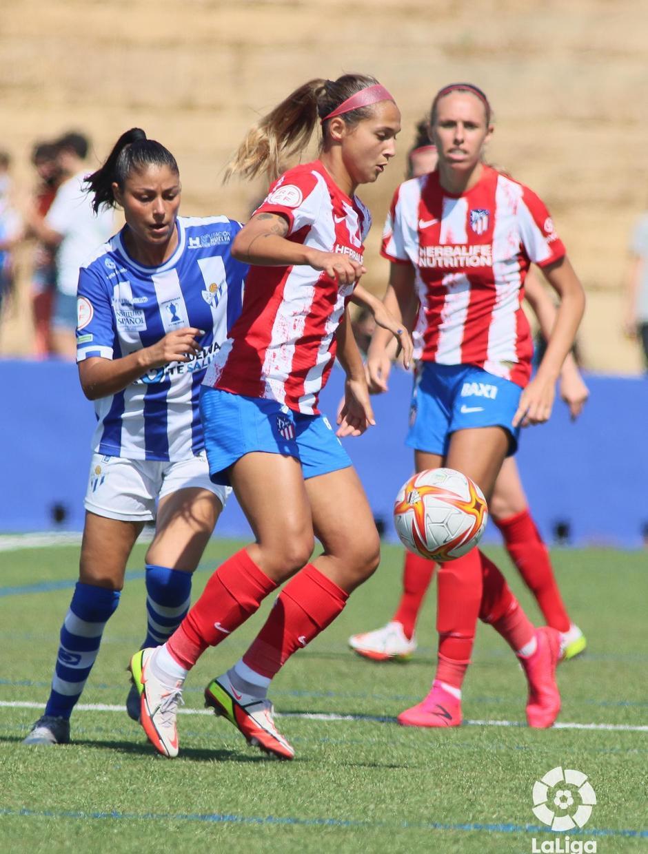 Temp. 21-22 | Sporting de Huelva - Atlético de Madrid Femenino | Deyna