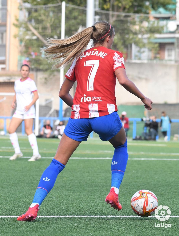 Temporada 21-22   Madrid CFF - Atlético de Madrid Femenino   Maitane