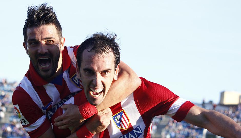 Temporada 13/14. Getafe - Atlético de Madrid.