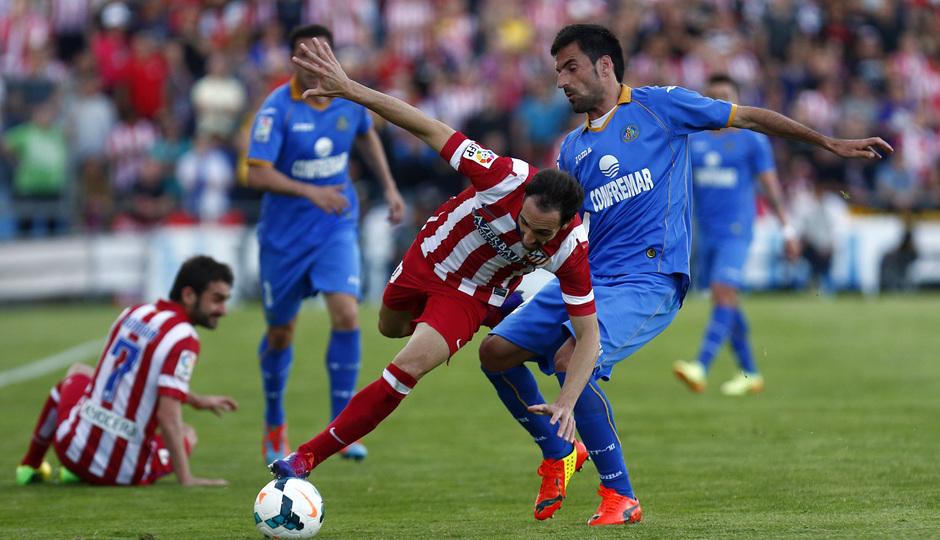 Temporada 13/14. Getafe - Atlético de Madrid. AG