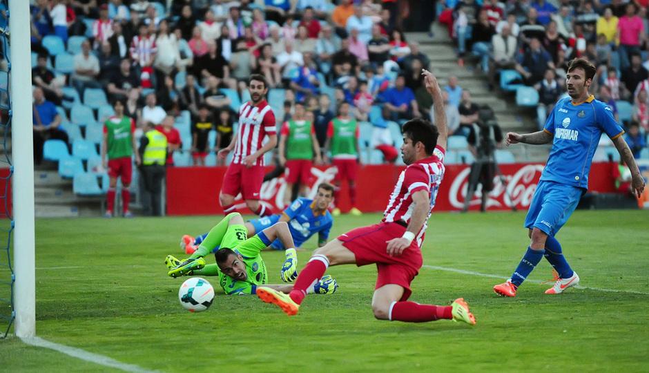 Temporada 13/14. Getafe - Atlético de Madrid. Monica Llanos