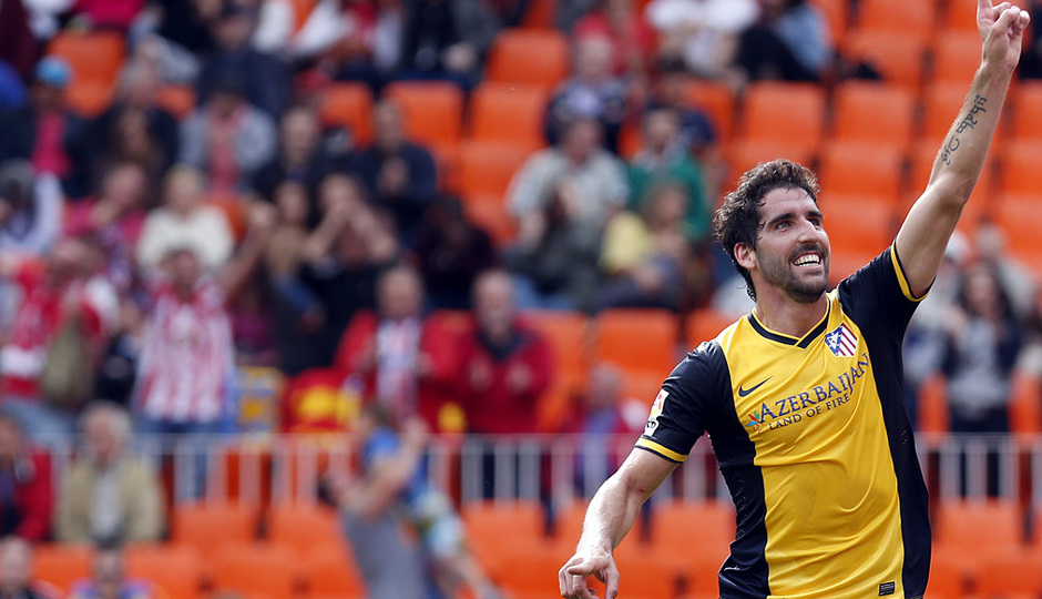 Temporada 13/14. Valencia - Atlético de Madrid.