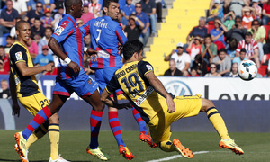 Temporada 13/14. Levante - Atlético de Madrid.