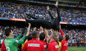 Temporada 13/14. FC Barcelona - Atlético de Madrid.