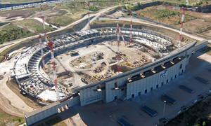 Fotos Obras Nuevo Estadio Abril 2014