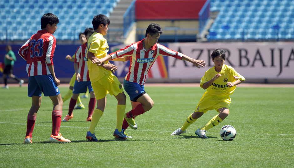 Proyecto Wanda. Partido Atlético de Madrid - Villarreal. Foto: Mónica Llanos