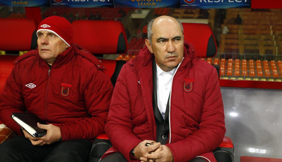 Kurban Berdyev, entrenador del Rubin Kazan.