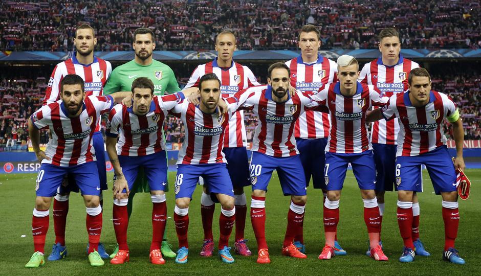 Atlético de Madrid - Bayer Leverkusen. Vuelta de octavos de final. Champions League. Nuestro once ante el Leverkusen.