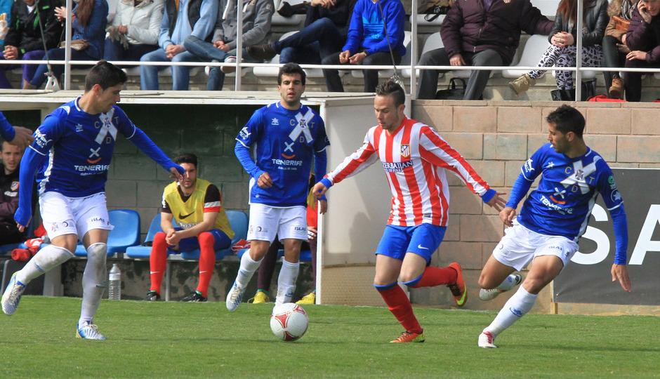 Temporada 2012-13. Atlético de Madrid B.