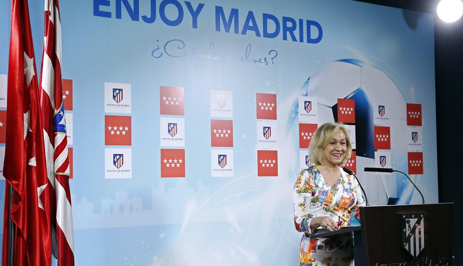 temporada 14/15. Acto Enjoy Madrid. En la ciudad deportiva de Majadahonda