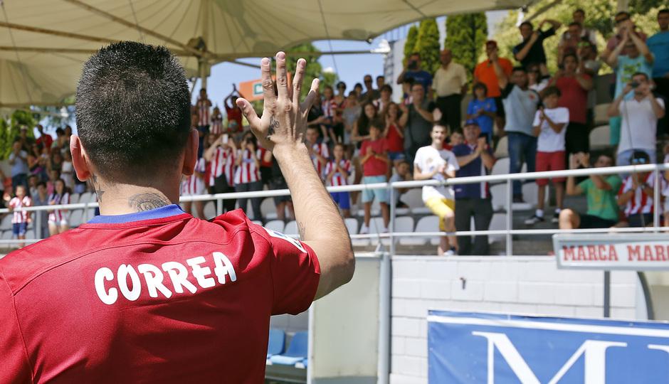 temp. 2015-2016. Presentación Correa.