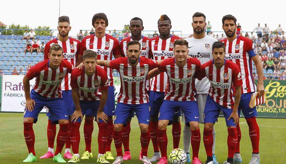 Once titular en el partido contra el Guadalajara disputado en el estadio de Butarque, Leganés