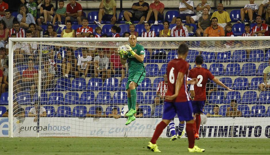 Partido amistoso Atlético de Madrid - Real Sociedad.