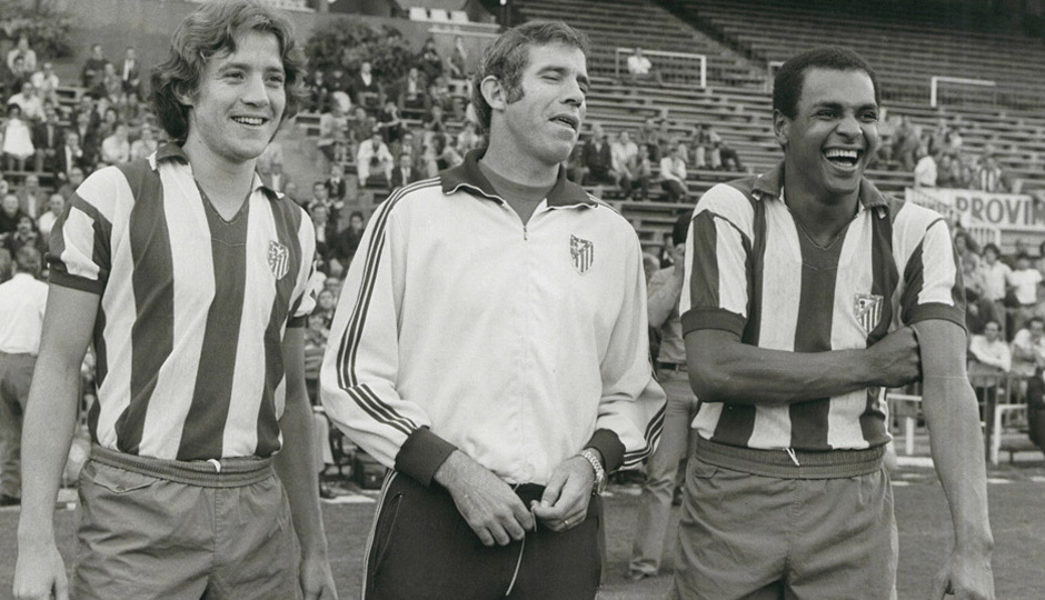 Leivinha, Luis Aragonés y Luiz Pereira