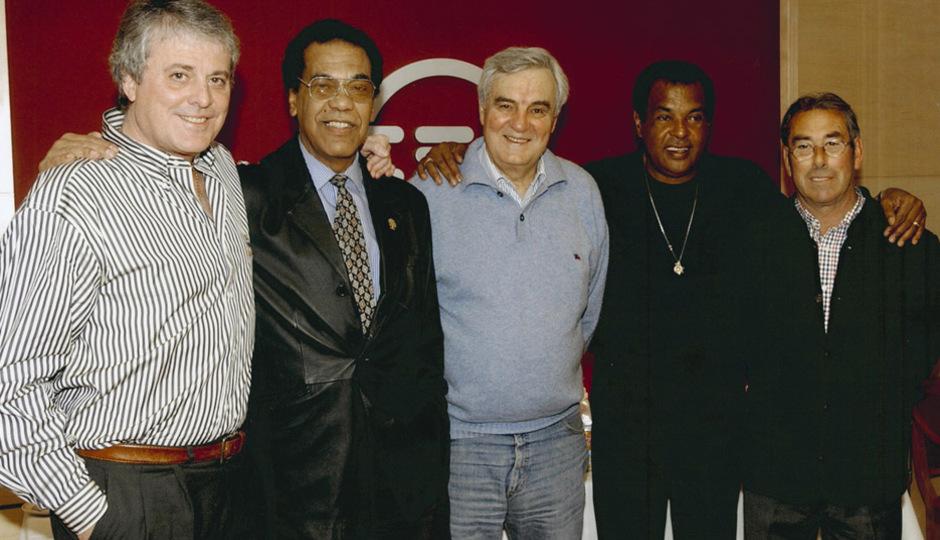 Navarro, Mendoza, San Román, Pereira y Adelardo