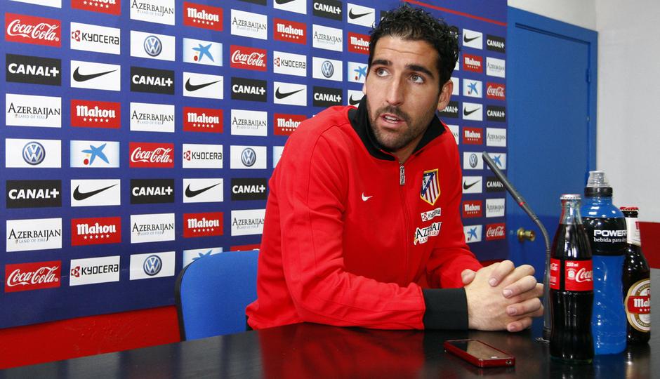 Raúl García comparece en rueda de prensa antes del encuentro frente a Osasuna