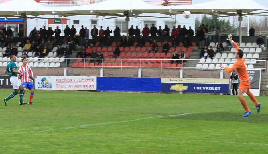 Gol de Omar al Coruxo (3-1)