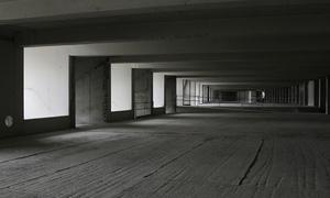 Estado de las obras del Nuevo Estadio en el interior de la tribuna principal