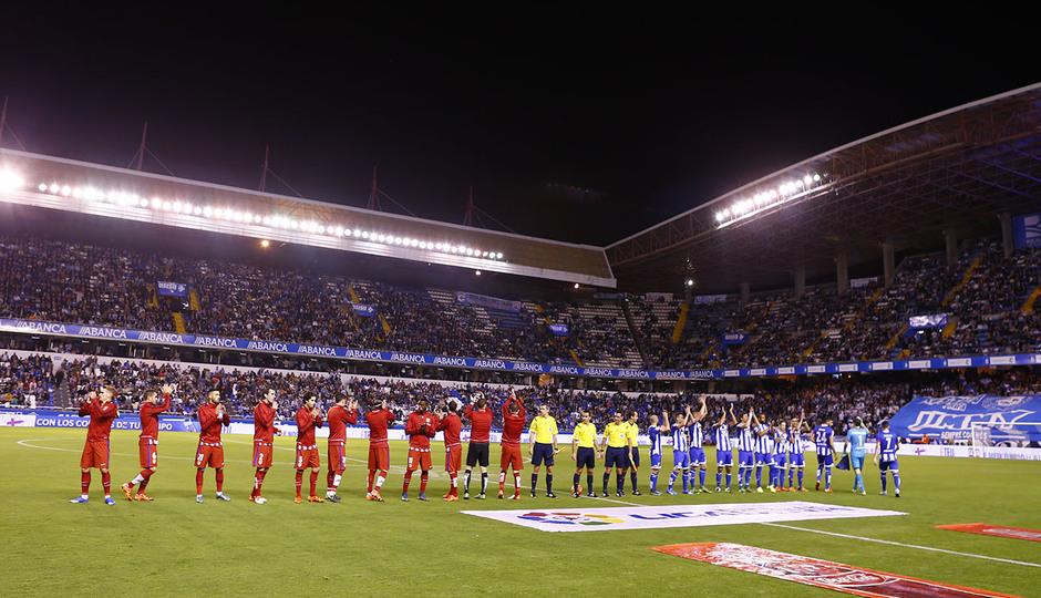 Deportivo de la Coruña - Atlético de Madrid. 10ª jornada de la Liga
