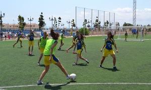 Temporada 2012-2013. Más de 50 niñas disfrutaron del I Campus de Priscila en Murcia