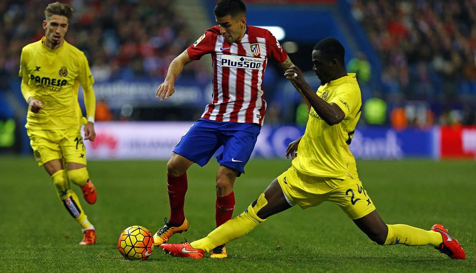 Temp. 2015-2016 | Atlético de Madrid - Villarreal | Correa