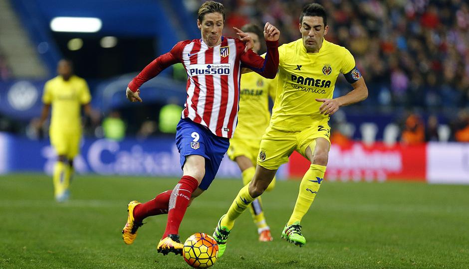 Temp. 2015-2016 | Atlético de Madrid - Villarreal | Torres