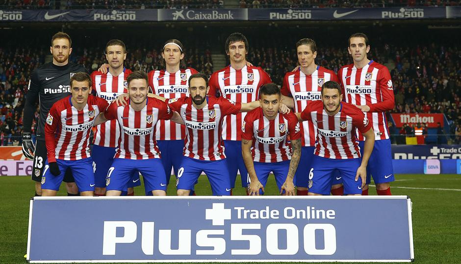 Temp. 2015-2016 | Atlético de Madrid - Villarreal | Once