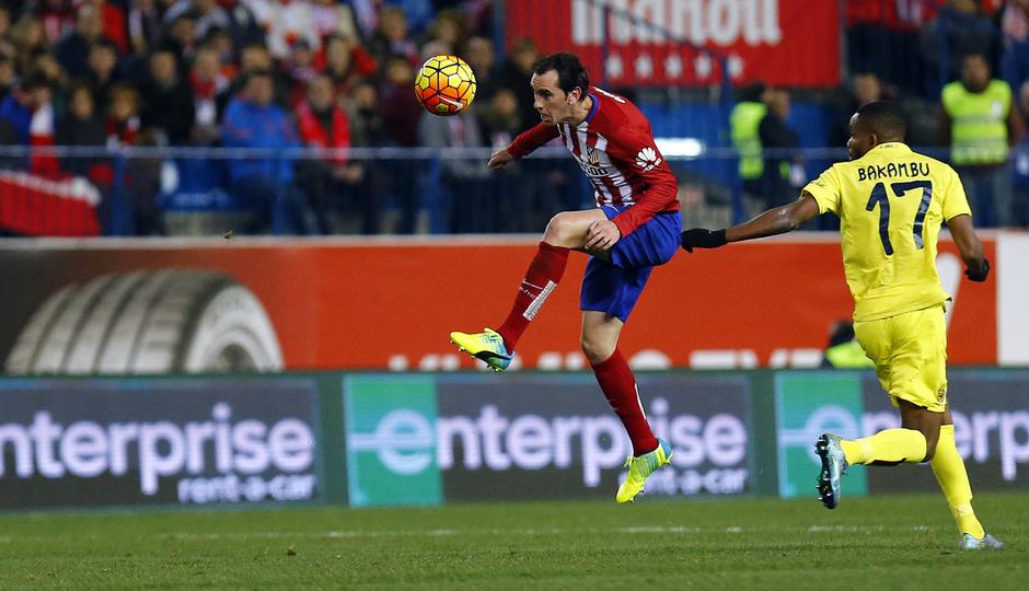 Temp. 2015-2016 | Atlético de Madrid - Villarreal | Godín
