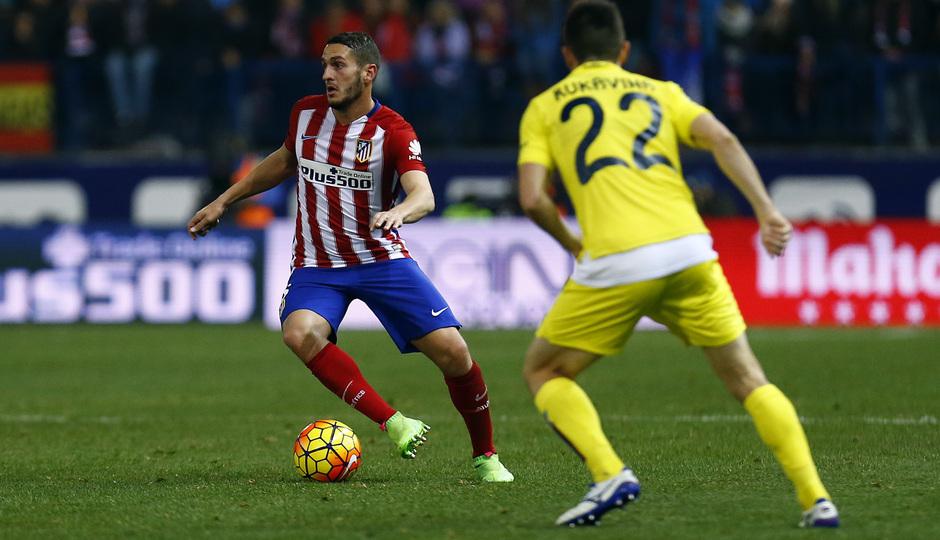 Temp. 2015-2016 | Atlético de Madrid - Villarreal | Koke