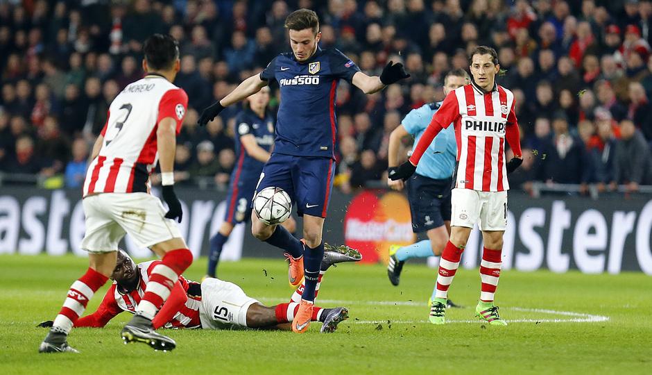 Temp. 2015-2016 | PSV - Atlético de Madrid | Saúl