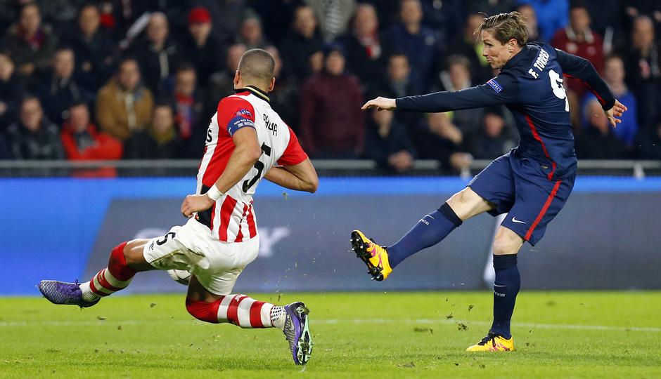 Temp. 2015-2016 | PSV - Atlético de Madrid | Fernando Torres