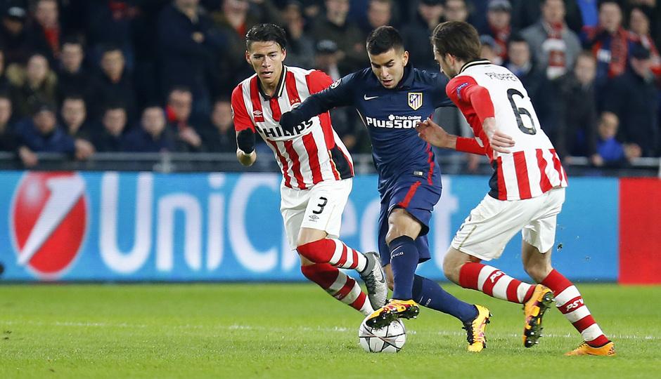Temp. 2015-2016 | PSV - Atlético de Madrid | Correa