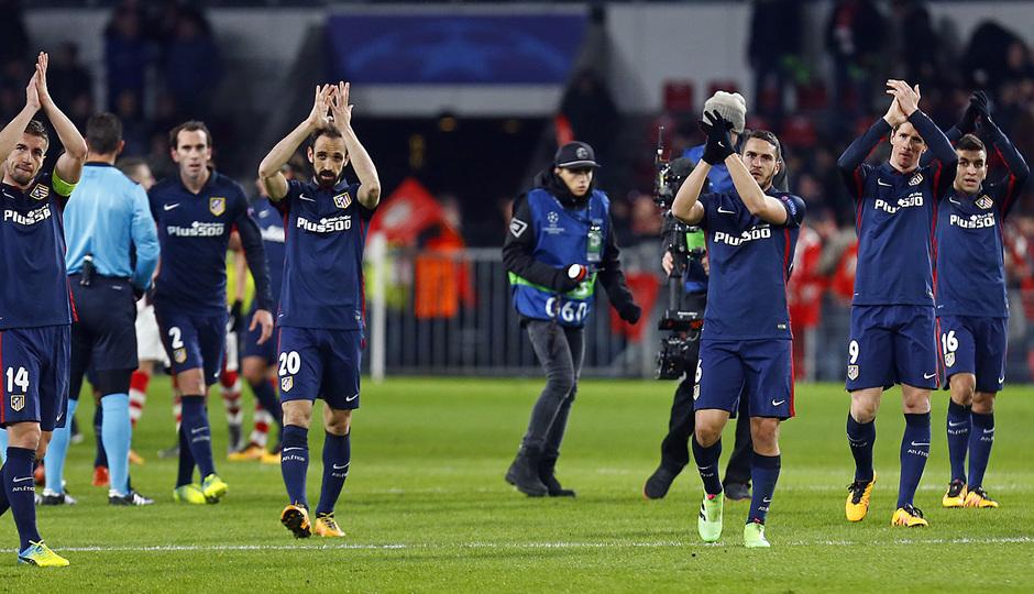 Temp. 2015-2016 | PSV - Atlético de Madrid | Grupo