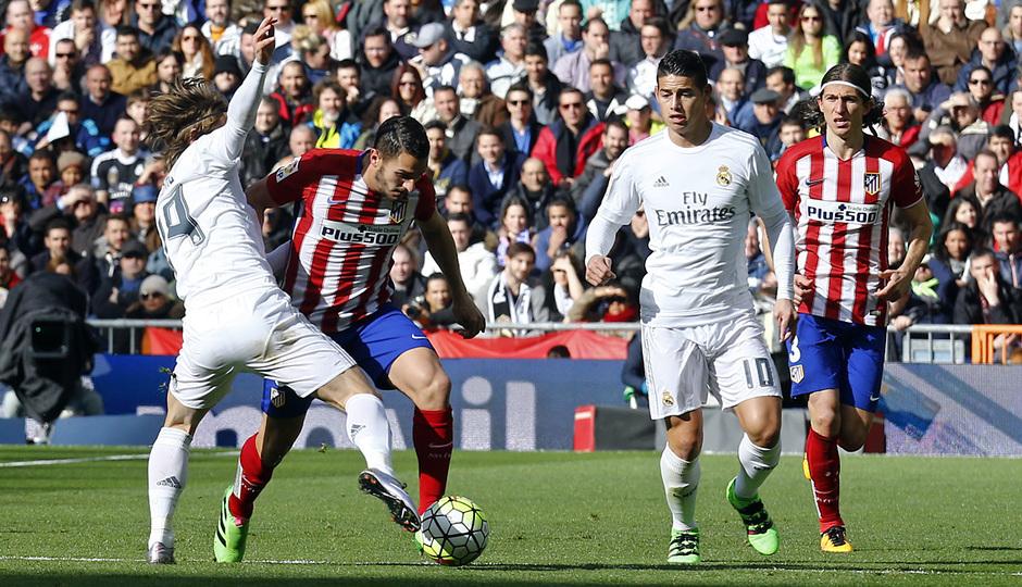 Temp. 2015-2016 | Real Madrid - Atlético de Madrid | Koke