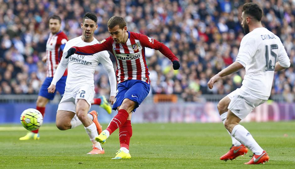 Temp. 2015-2016   Reak Madrid - Atlético de Madrid   Griezmann