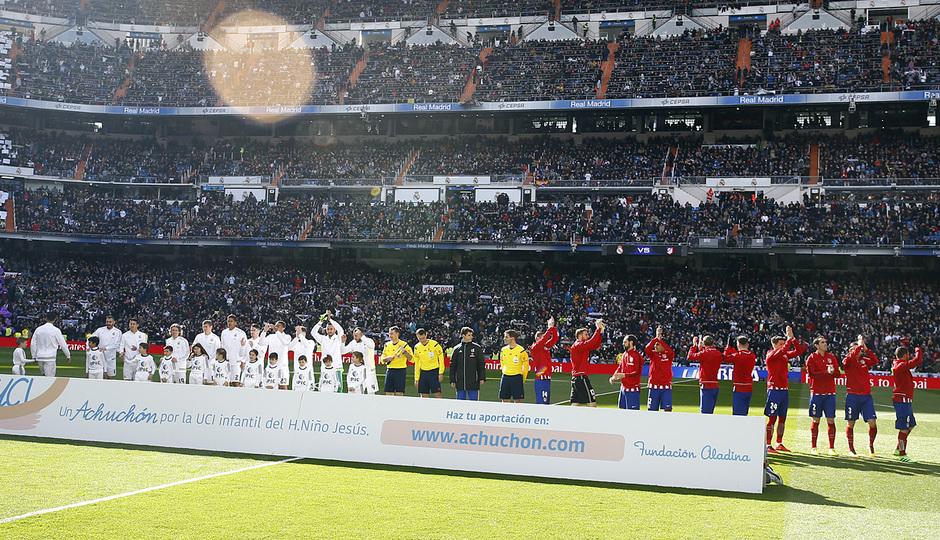 Temp. 2015-2016   Real Madrid - Atlético de Madrid   Once