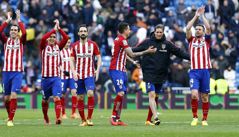 Temp. 2015-2016 | Real Madrid - Atlético de Madrid | Celebración