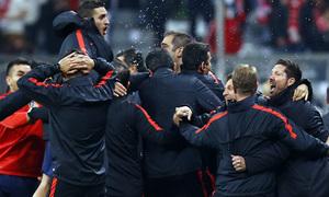 Temp. 2015-2016 | Bayern - Atlético de Madrid | Celebración