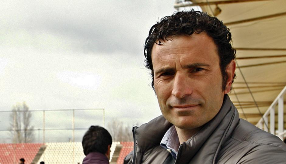 Entrenamiento primer equipo 10/04/2013. José Francisco Molina estuvo presente en el entrenamiento.