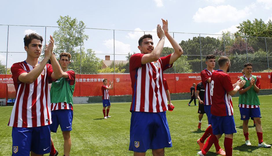 Temporada 15/16. Atlético de Madrid Juvenil de Honor - Las Palmas. Copa de Campeones.
