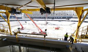 Visita al nuevo estadio - 7/06/2016