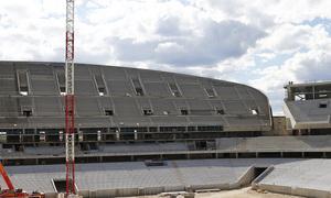 Temporada 2015-2016. Avance de las obras en el Nuevo Estadio. 17/06/2016. (Alberto)