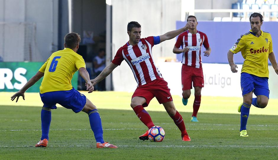 Pretemporada 16-17. Cádiz - Atlético de Madrid. Gabi