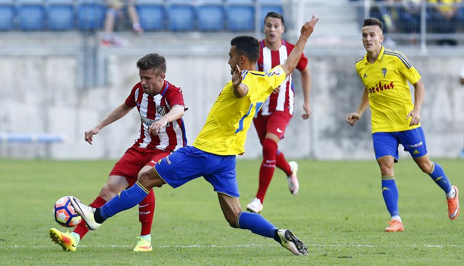 Pretemporada 16-17. Cádiz - Atlético de Madrid. Caio