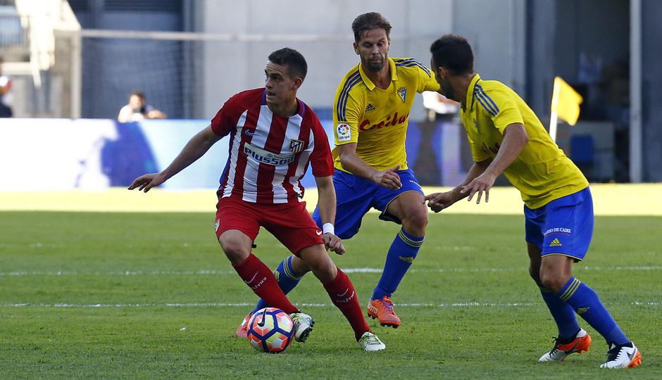 Pretemporada 16-17. Cádiz - Atlético de Madrid. Santos Borré