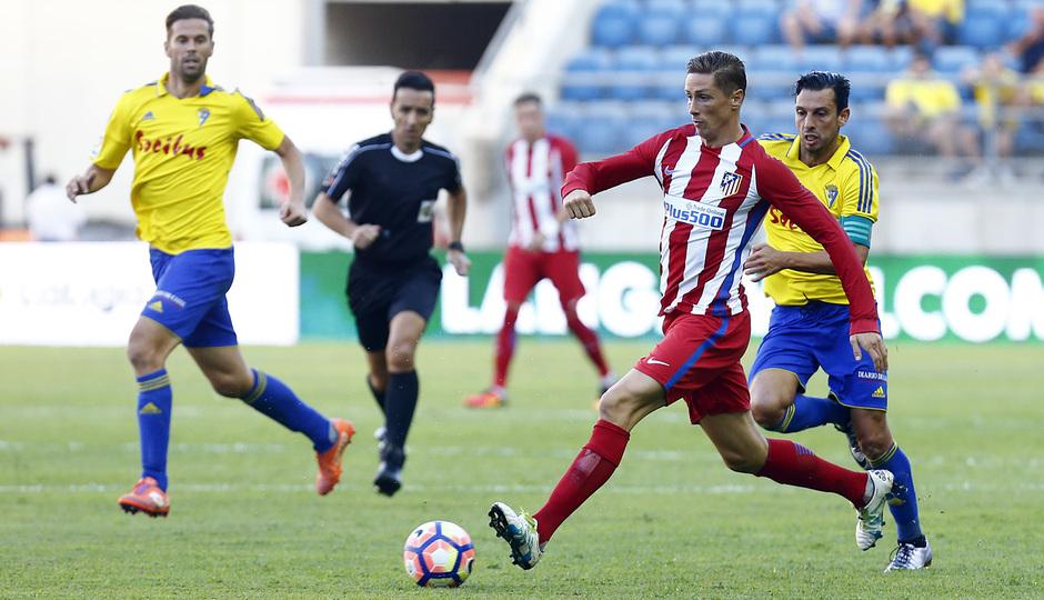 Pretemporada 16-17. Cádiz - Atlético de Madrid. Fernando Torres